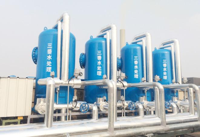京东方循环水旁滤项目